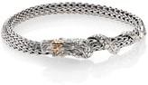 John Hardy Naga 18K Yellow Gold & Sterling Silver Chain Bracelet