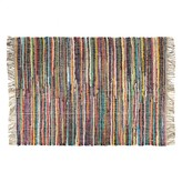 Roxy Medium striped chindi rug 140 x 200cm