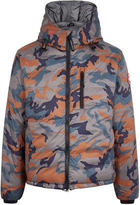 Canada Goose Lodge camouflage-print shell jacket