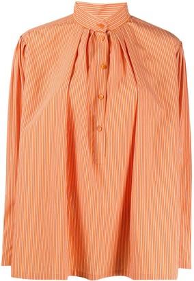 Alberta Ferretti Striped Poplin shirt