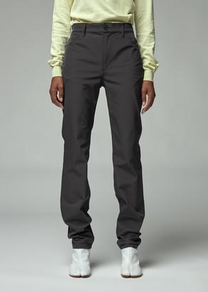 Maison Margiela Women's Stretch Trouser Pants in Black Size 40 Polyester/Elastane