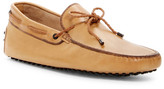 Tod's Leather Moc Driver