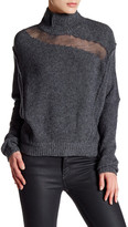 Elie Tahari Wool Blend Turtleneck Sweater