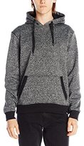 Southpole Men's Pull Over Hoodie Solid Clean In Marled Colors