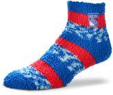 For Bare Feet Women's New York Rangers Pro Stripe Slipper Socks