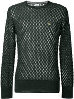 Vivienne Westwood Man open knit jumper