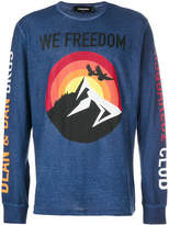 DSQUARED2 We Freedom top