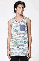 On The Byas Rome Tribal Pocket Tank Top