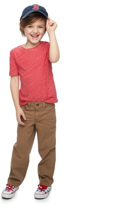 Sonoma Goods For Life Boys 4-12 Relaxed-Fit Twill Pants in Regular, Slim & Husky