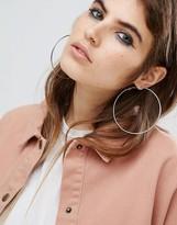 Reclaimed Vintage Oversized Hoop Earrings