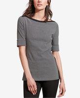 Lauren Ralph Lauren Striped Stretch T-Shirt
