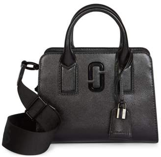 Marc Jacobs Little Big Shot DTM Coated Leather Satchel