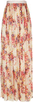 Needle & Thread Petal Pink Prairie Rose Maxi Skirt