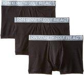 Kenneth Cole Reaction Men's 3-Pack Cotton Trunk