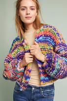 Maeve Rainbow Hand-Knit Cardigan