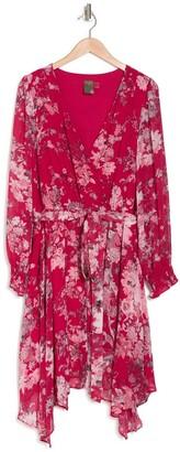 Taylor Surplice Tie Waist Dress
