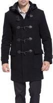 BGSD Men's 'Benjamin' Wool Blend Classic Duffle Coat - M