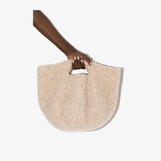 LAUREN MANOOGIAN Neutral Bowl Tote Bag