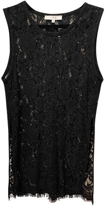 IRO Black Lace Tops