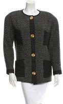 Chanel Oversize Tweed Jacket