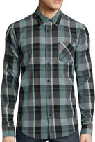 DC Co. Long-Sleeve Highland Woven Button-Down Shirt
