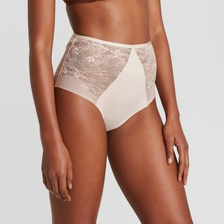 Women's Bonded Micro Briefs with Lace - AudenTM