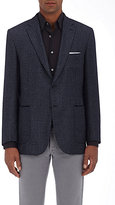 Brioni Men's Houndstooth Two-Button Sportcoat-NAVY