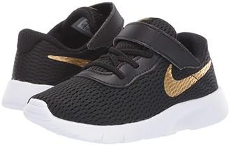 Nike Kids Tanjun (Infant/Toddler) (Black/Metallic Gold/White) Boys Shoes