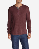 Eddie Bauer Men's Basin Double-Knit Henley