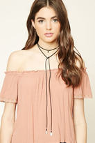 Forever 21 Arrowhead Layered Choker