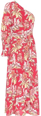 Peter Pilotto Printed crepe midi dress