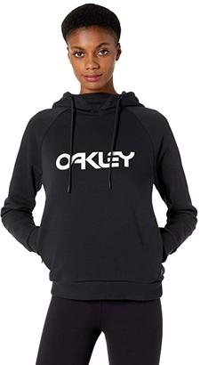 Oakley TNP DWR Fleece Hoodie (Blackout) Women's Sweatshirt