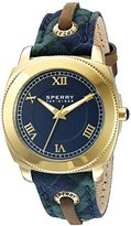 Sperry Women's 103069 Summerlin Analog Display Japanese Quartz Blue Watch
