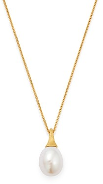 Marco Bicego 18K Yellow Gold Africa Freshwater Pearl Pendant Necklace, 16.75