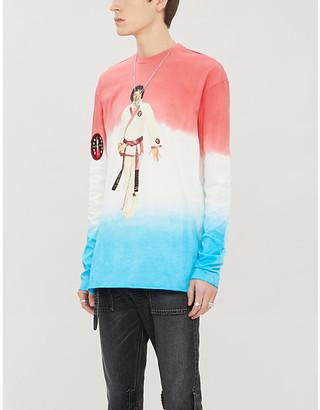 Alchemist Karate Elvis stretch-cotton jersey T-shirt