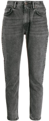 Acne Studios Melk Black Marble washed jeans