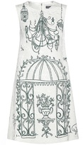 Dolce & Gabbana Printed Jacquard Dress