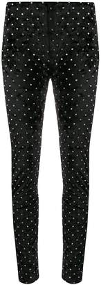 Amen crystal embellished trousers