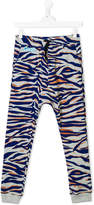 Kenzo tiger stripes track pants