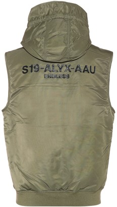 Alyx MA-1 hooded vest