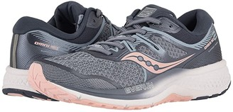 Saucony Omni ISO 2 (Slate/Pink) Women's Running Shoes