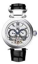 Heritor Ganzi Automatic Multi-Function Silver Dial Men's Watch HR3301