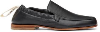 Loewe Black Elasticated Loafers