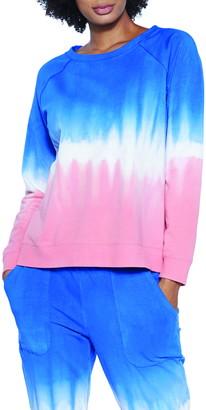 WASH LAB Tie Dye Sweatshirt