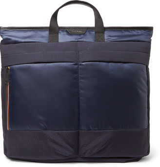 Paul Smith Two In One Ripstop And Shell Tote Bag