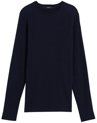 Theory River Crewneck Organic Cotton Sweater