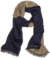 Brooks Brothers Mini Polka Dot Scarf