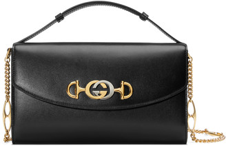 Gucci Zumi smooth leather small shoulder bag