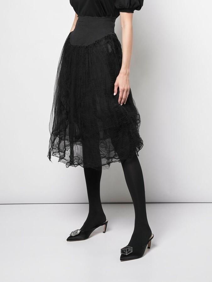 Thumbnail for your product : Marc Le Bihan Elasticated Waist Skirt