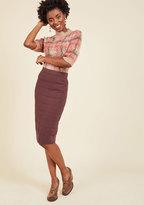 Knits the Bill Pencil Skirt in XXL